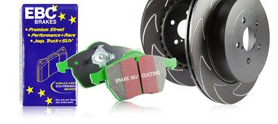 EBC Front Blade Sport Discs & Greenstuff Pads Audi Q3 1.4 Turbo 150 HP 2014 > 15