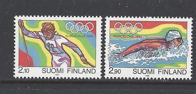 FINLAND - 878 - 883 - MNH - 1992 ISSUES