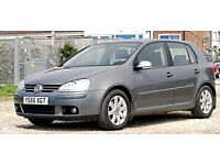 2006 VW GOLF 2.0 GT TDI 6 SPEED AUTO. New MOT, cambelt, water pump, brake discs and pads,