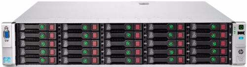 "Hp Proliant Dl380e Gen8 G8 25 X 2.5"" Cadd 2 X E5-2430 6-core 32gb Storage Server"