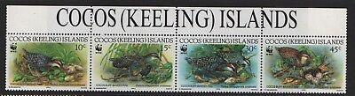 Cocos (Keeling) Islands  SG 265-SG 2688 Birds 1992 Unmounted Mint MNH
