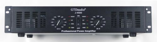 GTD Audio 2 Channel 4500 Watts Professional Power Amplifier Amp Stereo J4500