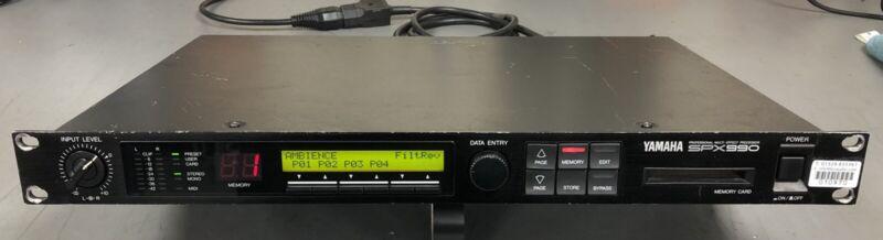 YAMAHA SPX 990 Professional Multi-FX Processor