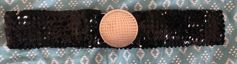 Madonna Confessions Tour Black Sequins Belt Madame X