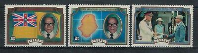 Niue Scott 451 - 453 in MNH Condition