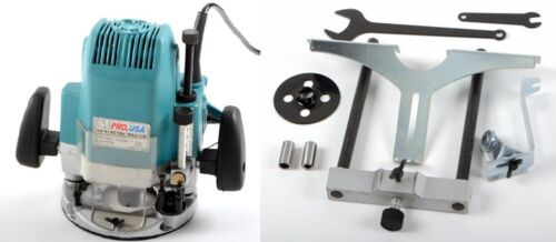 """1/2"""" and 1/4"""" Plunge Router Electric Wood Routing Machine Co"""