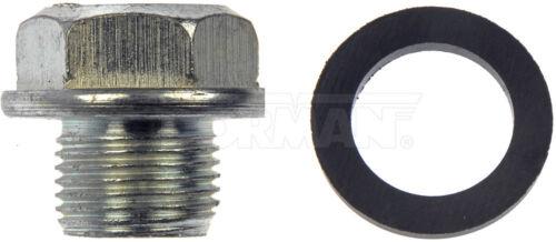 Engine Oil Drain Plug Dorman 090-039 fits 83-86 Nissan 720 2.4L-L4