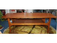 Vintage Retro 1960s Wooden Coffee Table