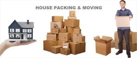 Cheap Man and Van Hire London House Removals Office Moving Packing Piano Movers Delivery Van