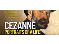 Cezanne: Portraits of a life Cinema Ticket in Odeon Kingston
