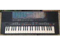 Yamaha PSS-480 Mini Keys Synthesizer Keyboard 1980's MusicStation Arranger keyboard