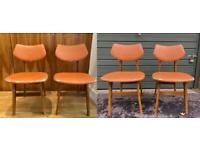 4 Vintage Jacob chairs