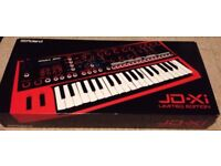 Roland JD-Xi Limited Edition Red - As New, Fully Boxed + Official Roland Overlay