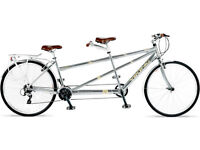Tandem Bicycle - Large frame, great condition, improved with modifications