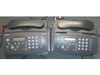 2 x Philips Fax Machines HFC171