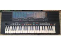Yamaha PSS-480 Mini Keys Synthesizer Keyboard 1980's MusicStation Arranger keyboard