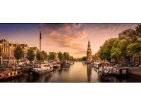 2x tickets to Amsterdam from Liverpool Airport