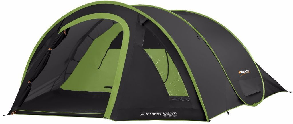 New and unused Vango Pop 300 DLX Quick Pitch Pop Up Double Skin Tent - Black  sc 1 st  Gumtree & New and unused Vango Pop 300 DLX Quick Pitch Pop Up Double Skin ...
