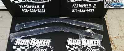 2011-2014 Ford F-150 REGULAR CAB Window Vent Shades - OEM