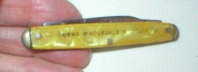 Vtg Advertising Kutmaster Stainless Steel Pocket Knife 2 Blade Made in USA