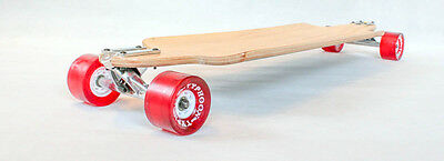 Urban  longboard complete skateboard cruiser Drop down through thru  W concave