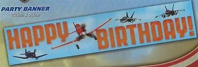 PLANES GIANT BIRTHDAY PARTY BANNER ! Bigger & Better Size >> 150 X 30 CM (Best Birthday Banners)