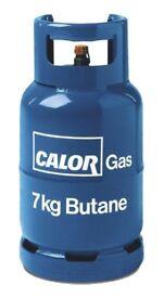 empty 7kg calor gas bottle ideal spare