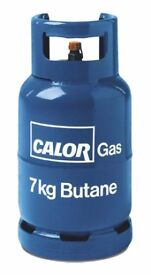 7kg calor gas bottle ideal spare empty for refill