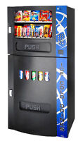 newer Seaga 2500 snack and drink combo vending machine