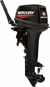 15 hp Mercury Outboard Super Model Brand New Coorparoo Brisbane South East Preview