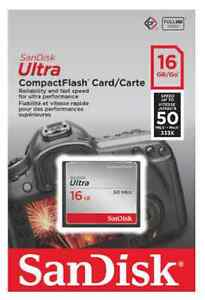 Brand New Compact Flash Card 16GB