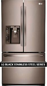 CLEARANCE SALE OF BLACK STAINLESS STEEL APPLIANCES PACKAGE