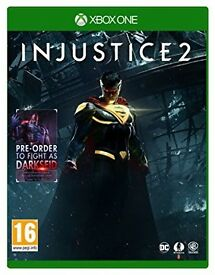 injustice 2 , new , xbox one ! price stands , no offers !