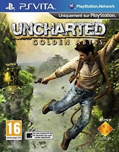 PS Vita Uncharted : The Golden Abyss