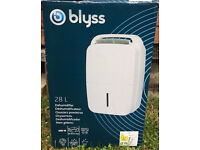 New Boxed - Blyss Excellence 28L Dehumidifier