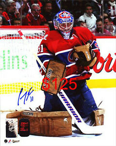 CAREY PRICE MONTREAL CANADIENS AUTOGRAPHED 8x10 PHOTOS / OTHER