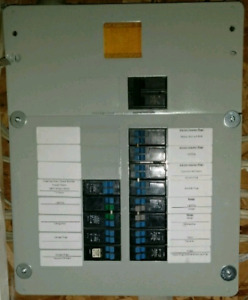 Panel and breakers for sale