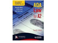 AQA law book for A2