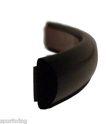 Moldings Trim Mouldings All Purpose UNIVERSAL 38 WIDE Black Half Round 20 Ft