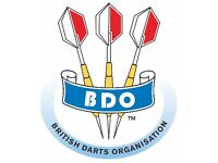 BDO Darts Sami final weekend two tickets and hotel