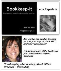 Are you looking for an accountant / bookkeeper ?