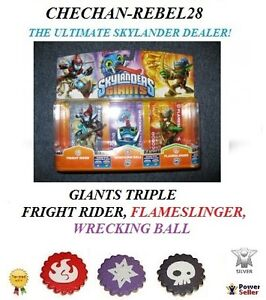 SKYLANDERS GIANTS FIGURES TRIPLE