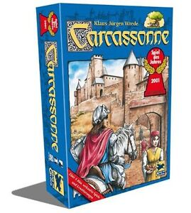 Large Board game Collection (kids games, carcassonne and more)