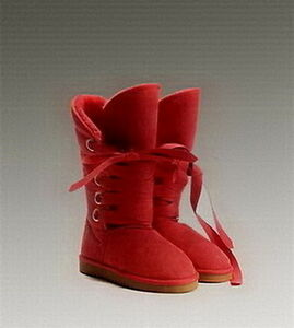 UGG Roxy Tall Boots 5818 Red
