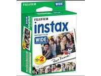 instax wide films
