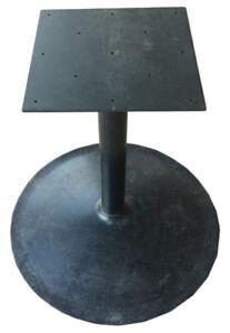 Heavy duty metal table base