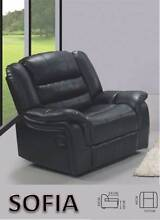 Recliner PU Leather Black/OfWhite Sofa 3RR/2RR/1RR-PICKUP/DELIVER Salisbury Brisbane South West Preview