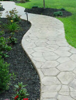 SLABS, WALKWAYS, STAIRS, GARAGES,  SHEDS