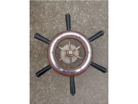 Yacht / Ships steering wheel