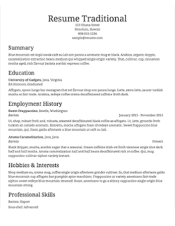 AAAA Professional Resume Writing Service